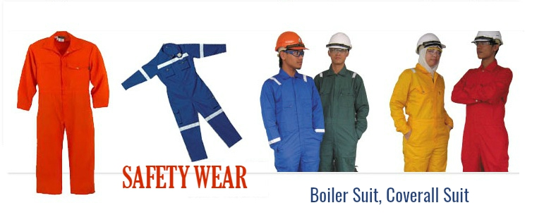 Boiler Suit, Coverall Suit Manufacturers, Suppliers in Mumbai