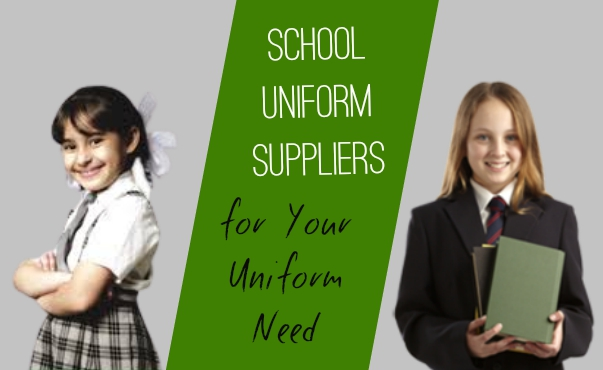 Find School Uniform Suppliers for Your Uniform Need